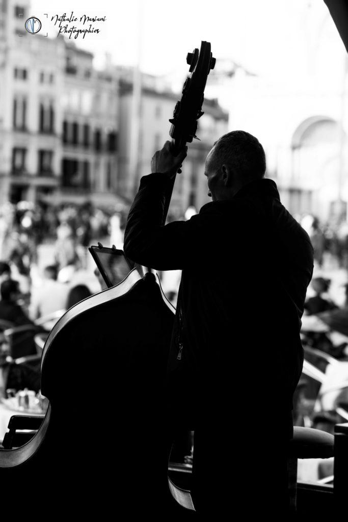 Musicien, café Florian - Venise