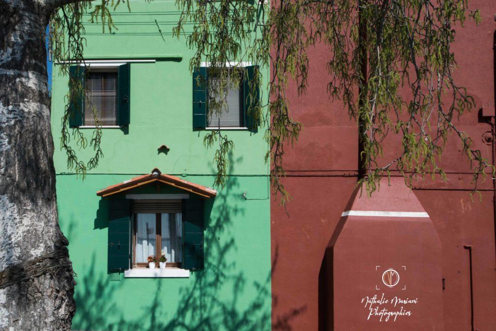 Façades au couleurs de l'Italie - Burano