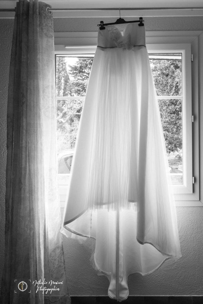 Préparatifs - robe de mariée